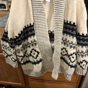 Gap Aztec over sized sweater
